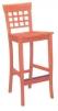 BAROWE2 dřevo - barová židle